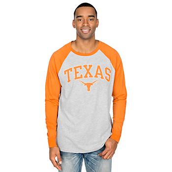 Texas Longhorns Byron Long Sleeve Raglan Tee