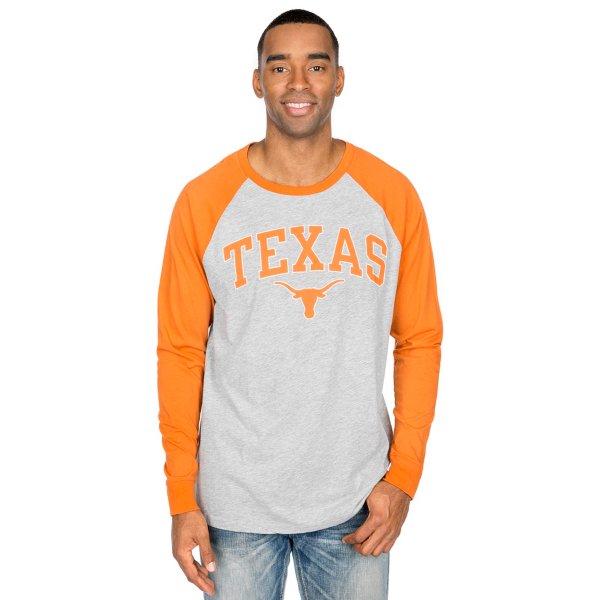 Texas Longhorns Byron Long Sleeve Raglan Tee