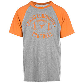 Texas Longhorns Franklin Short Sleeve Raglan Tee