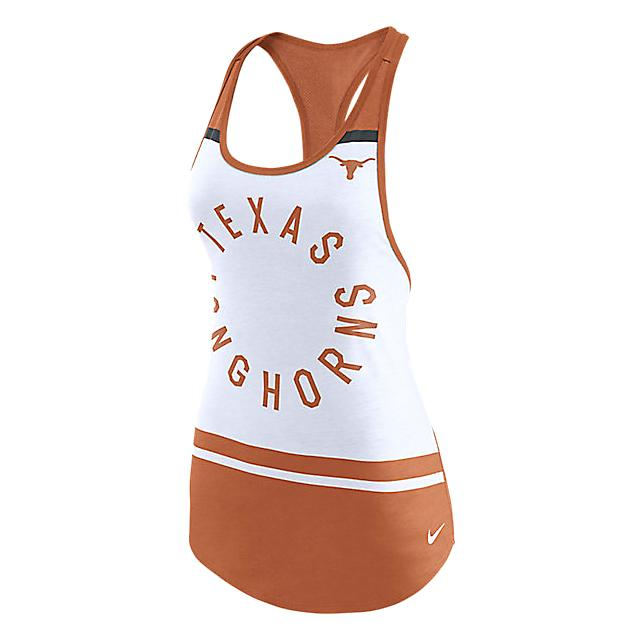 Texas Longhorns Nike Womens Circle Tank