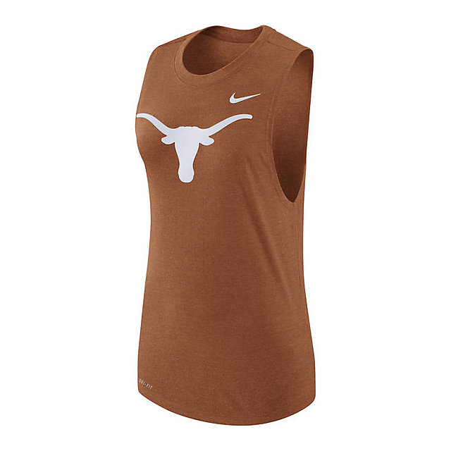 Texas Longhorns Nike Womens Muscle Tank