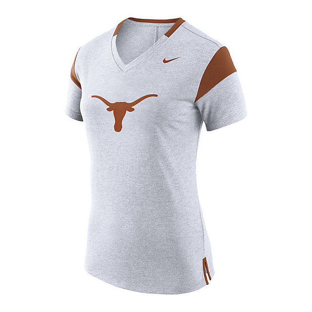 Texas Longhorns Nike Womens Fan V-Neck Tee