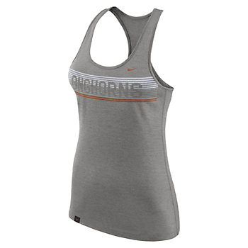 Texas Longhorns Nike Womens Dri-FIT Touch Tank