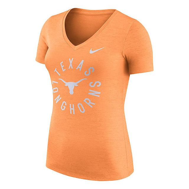 Texas Longhorns Nike Womens Dri-FIT Touch Tee