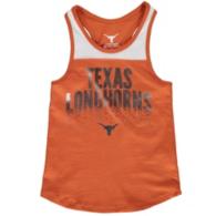 Texas Longhorns Girls Crump Tank
