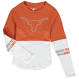 Texas Longhorns Girls Carolyn Long Sleeve Tee
