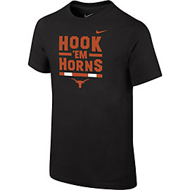 Texas Longhorns Nike Youth Verbiage Tee