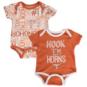 Texas Longhorns Infant 2-Pack Emerson Set