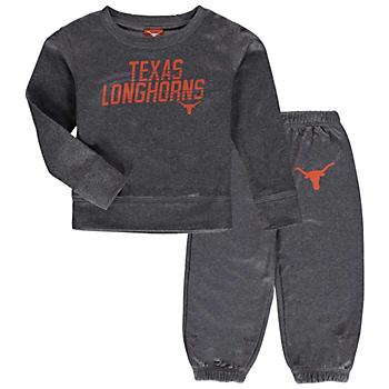 Texas Longhorns Toddler Stewart Set
