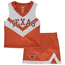 Texas Longhorns Girls Victory Cheer Set