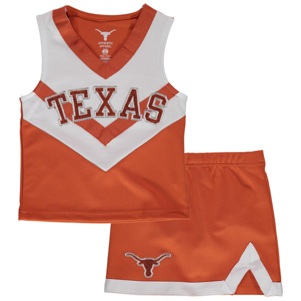 Texas Longhorns Toddler Victory Cheer Set
