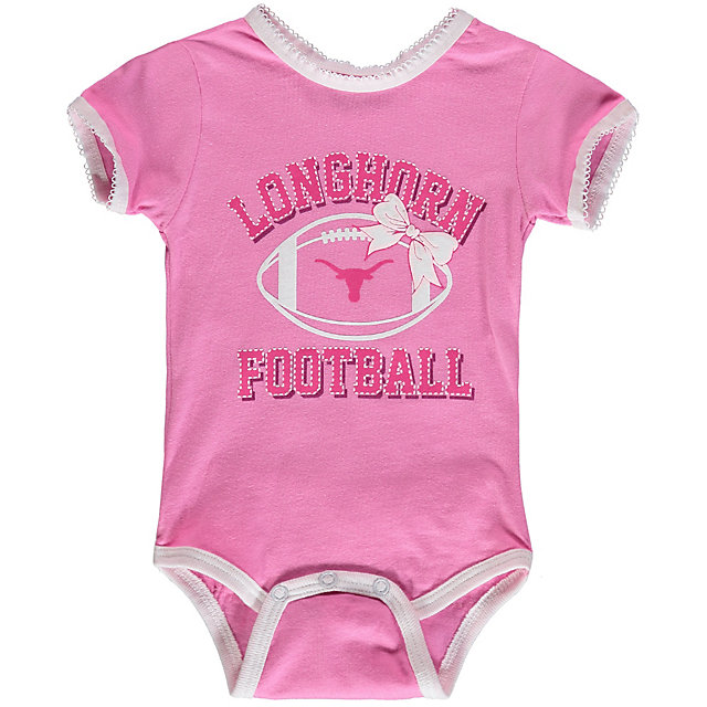 Texas Longhorns Infant Grace Tutu Bodysuit