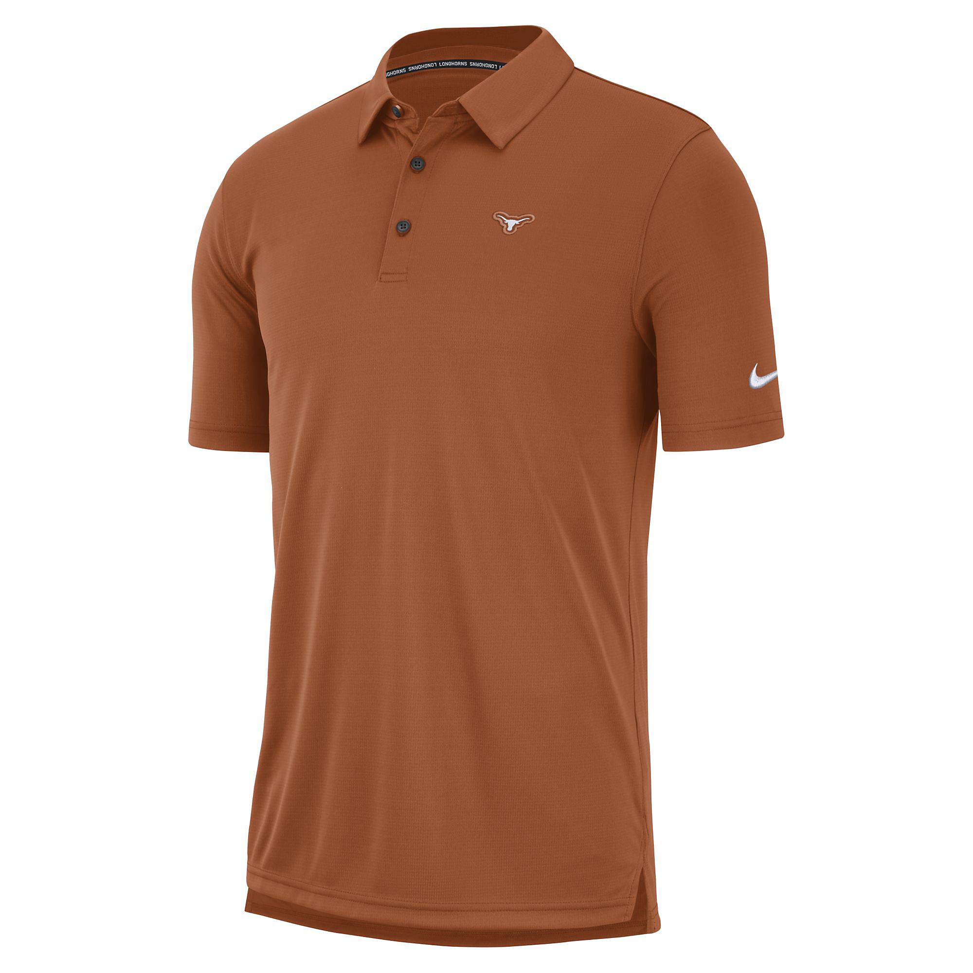 Texas Longhorns Mens Nike Polo