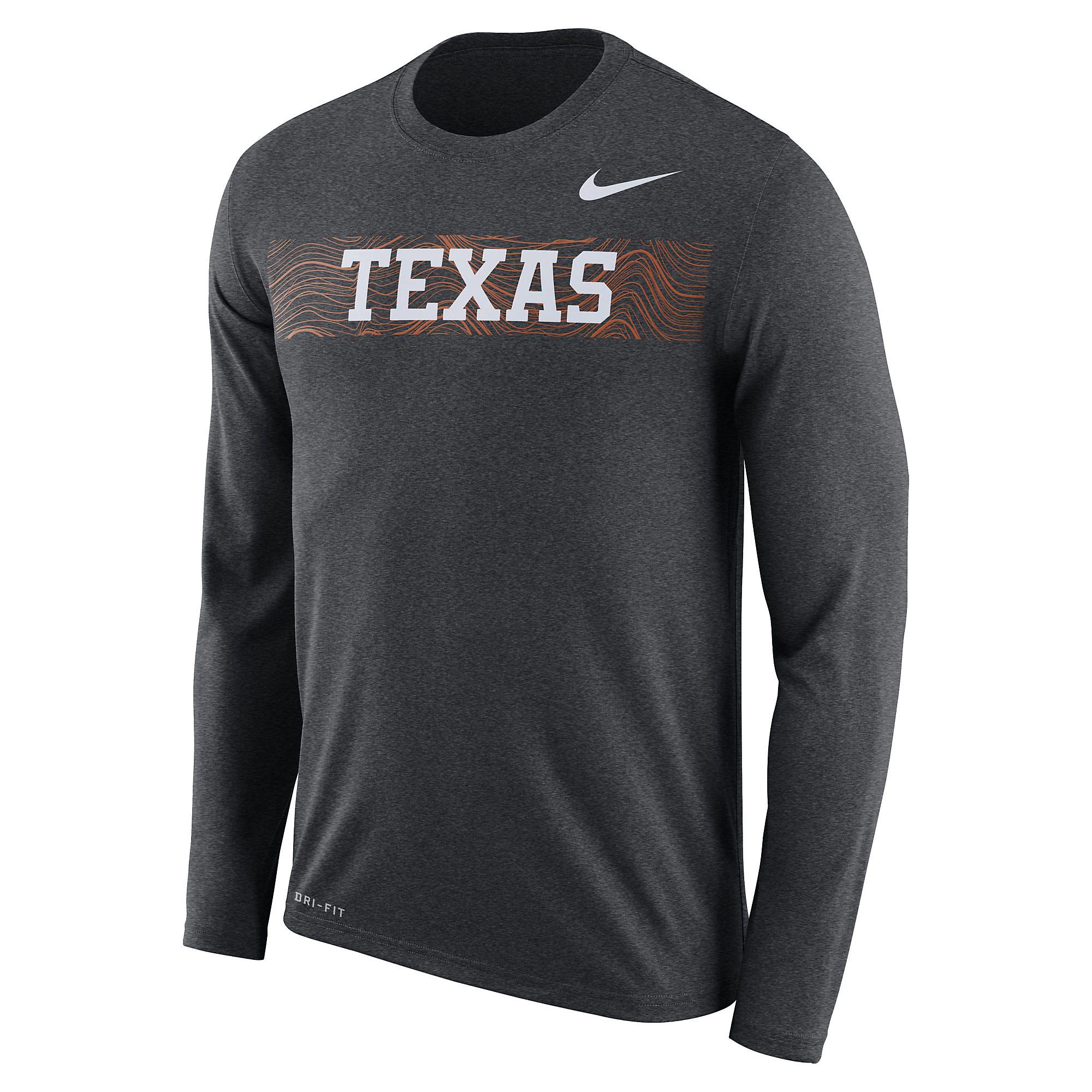 Texas Longhorns Nike Legend Long Sleeve Tee