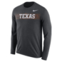 Texas Longhorns Nike Legend Long Sleeve Tee