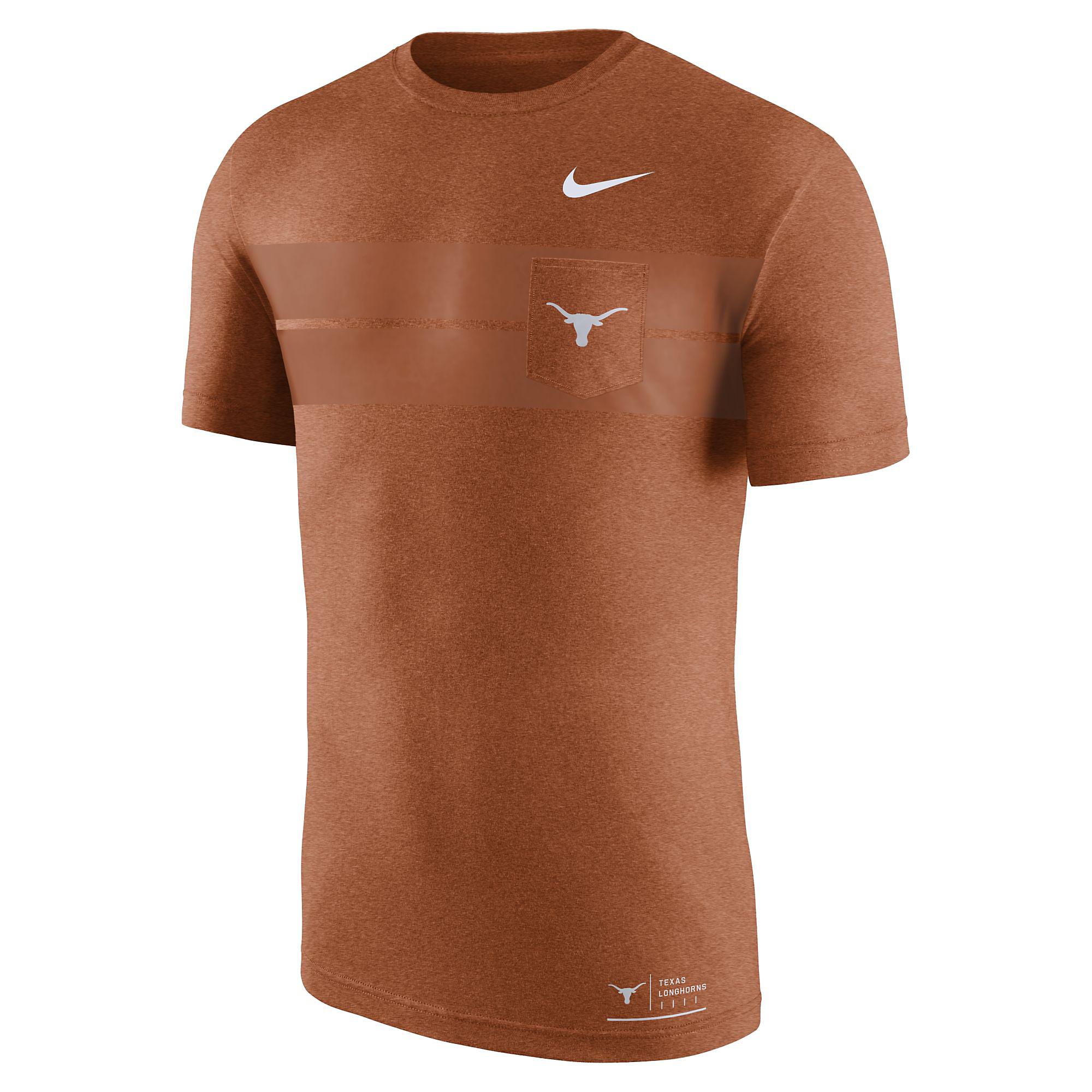 Texas Longhorns Nike Marled Elevated Tee