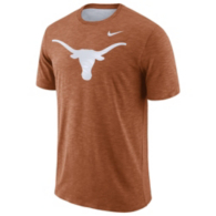 Texas Longhorns Nike Dri-FIT Cotton Slub Tee