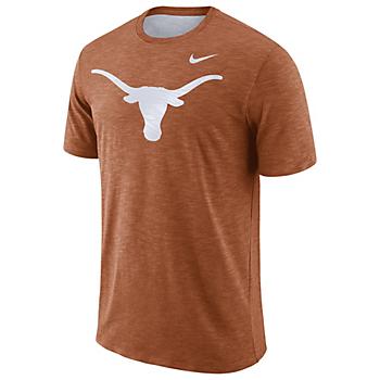 Texas Longhorns Nike Dri-FIT Cotton Slub Tee