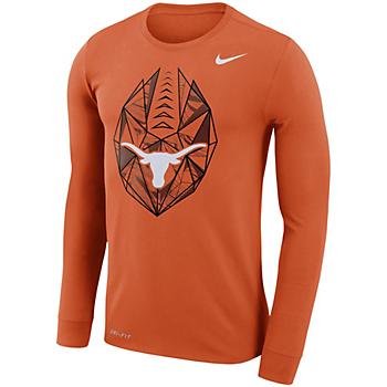 Texas Longhorns Nike Long Sleeve Icon T-Shirt