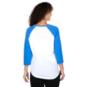 Texas Longhorns Nike Womens Arch Raglan T-Shirt