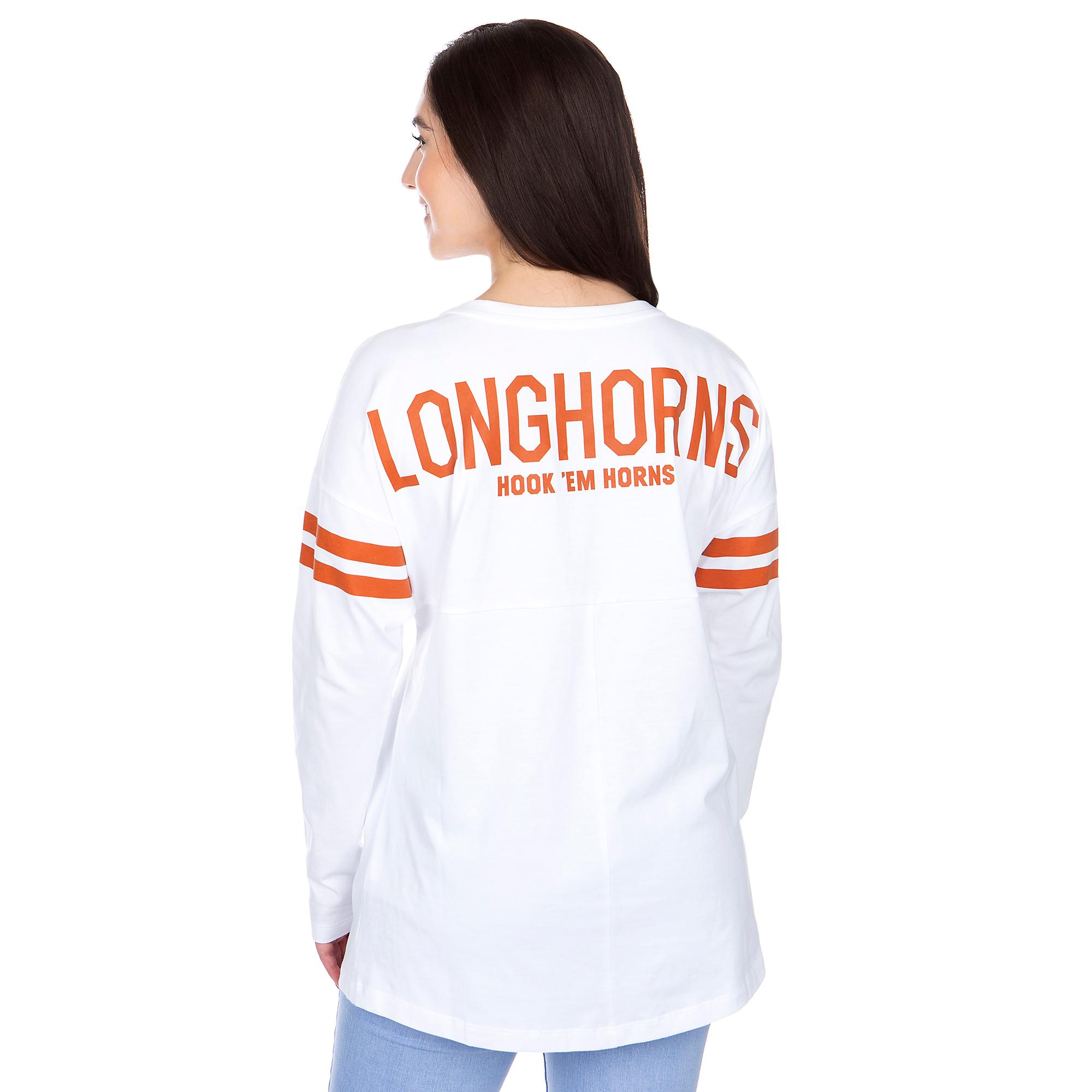 Texas Longhorns Womens Nike Tailgate Long Sleeve T-Shirt