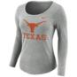 Texas Longhorns Nike Womens Long Sleeve Logo Tee