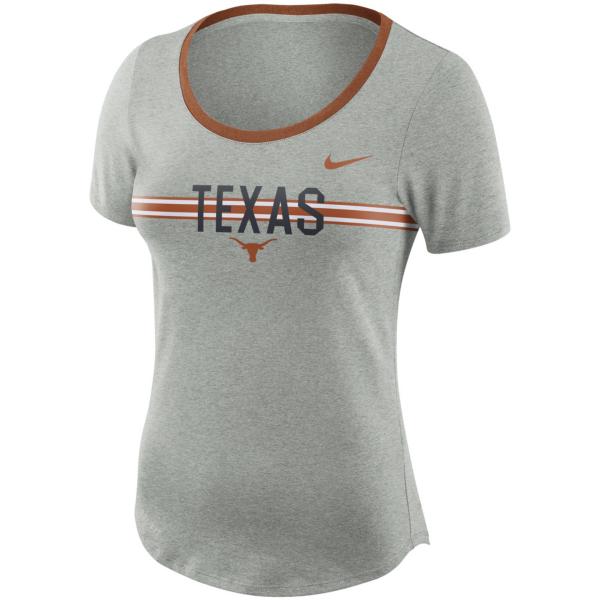 Texas Longhorns Nike Womens Strike Tee