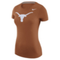 Texas Longhorns Womens Nike Logo Tee