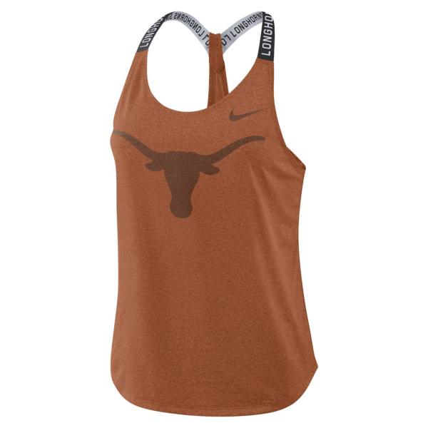 Texas Longhorns Nike Elastika Tank