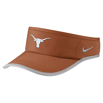 Texas Longhorns Nike Aerobill Featherlight Visor