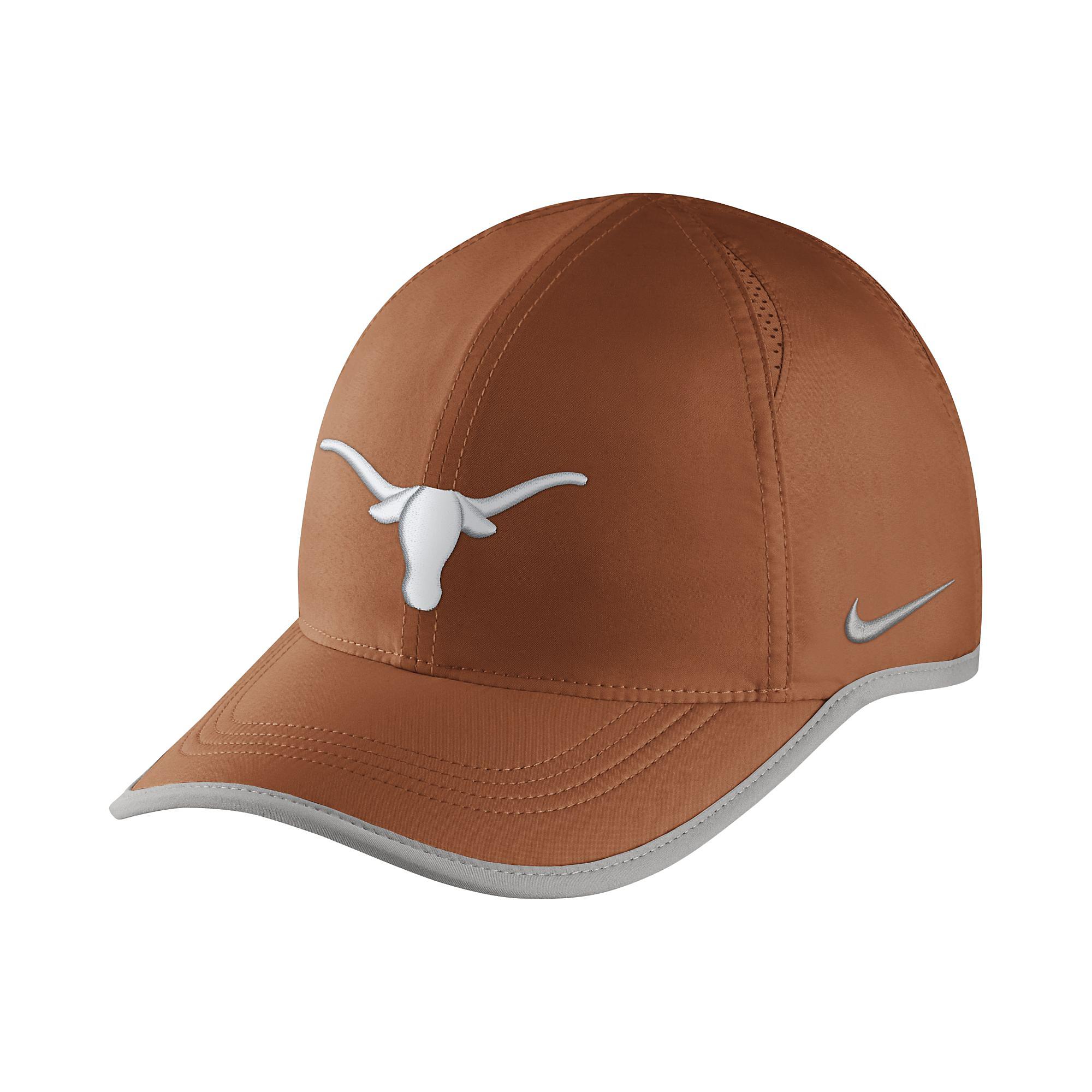 online store 48ee5 5c6cf Texas Longhorns Nike Featherlight Aerobill Cap   Fans United