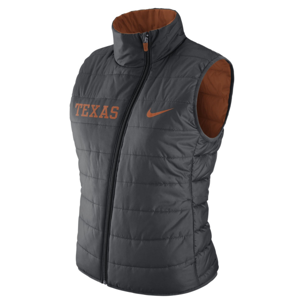 Texas Longhorns Nike Womens Reversible Vest