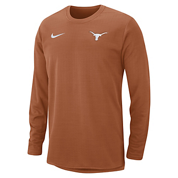 Texas Longhorns Nike Therma Modern Crew