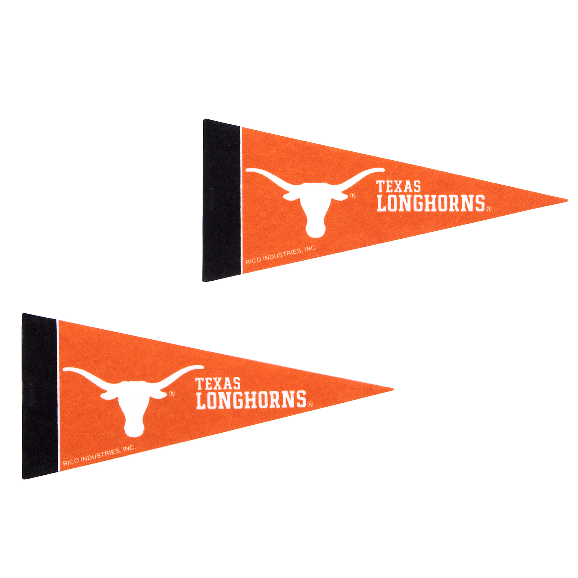 Texas Longhorns 2-Pack Mini Pennant