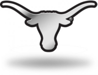 Texas Longhorns Molded Emblem