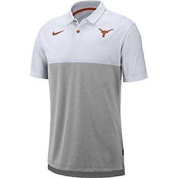 Texas Longhorns Nike Mens Breathe Polo