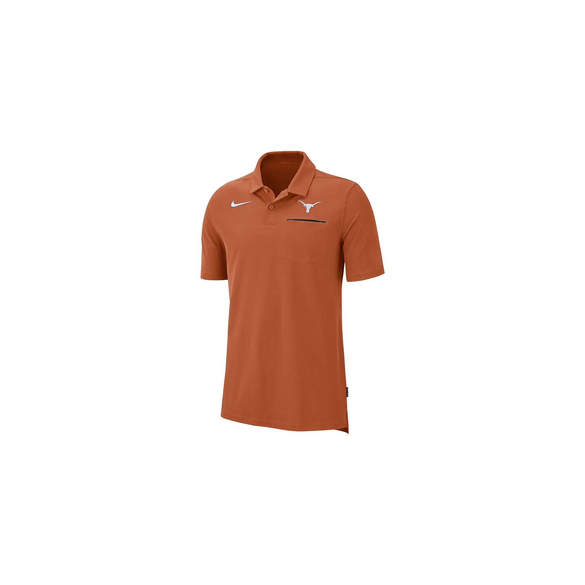 Texas Longhorns Mens Nike Dri-FIT Polo