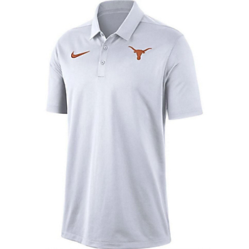 Texas Longhorns Mens Nike Relaxed Dri-FIT Polo