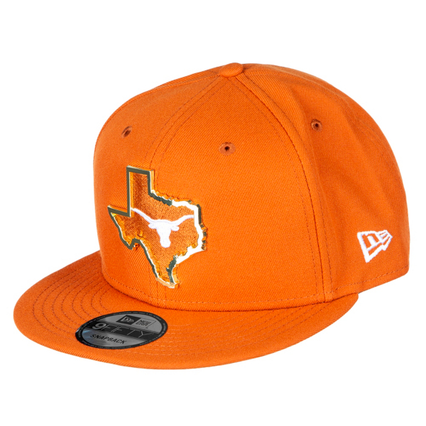 Texas Longhorns New Era Mens NT State 9Fifty Cap