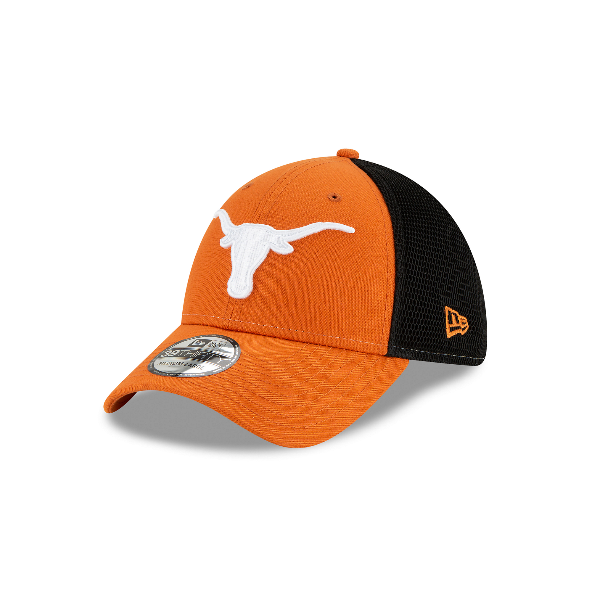 Texas Longhorns New Era Mens 2T Sided 39Thirty Cap