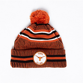 Texas Longhorns New Era Sport Home Knit Hat