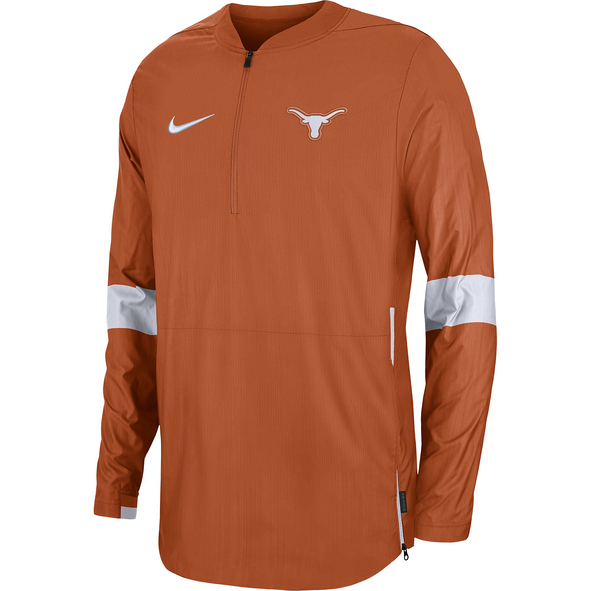 Texas Longhorns Nike Mens Coaches 1/4 Zip Pullover