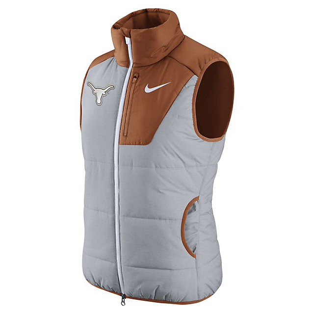 Texas Longhorns Nike College Womens Championship Drive Vest