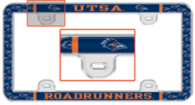 UTSA Roadrunners Domed Thin Rim License Plate Frame