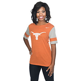 Texas Longhorns Nike Womens Fan Top
