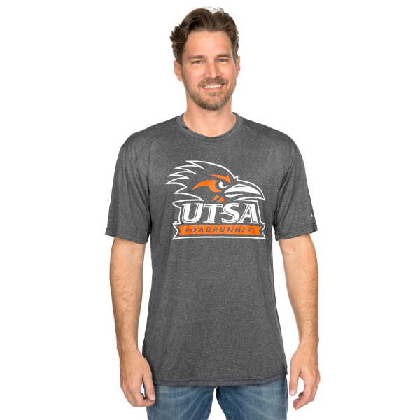 UTSA Roadrunners Badger Pro Heather Tee