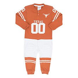 Texas Longhorns Glitter Gear Toddler Footysuit