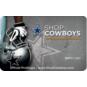 Dallas Cowboys Helmet Gift Card $5-$100