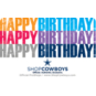 Dallas Cowboys Gift Card - Birthday