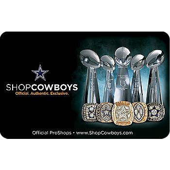 Dallas Cowboys Gift Card - Champions